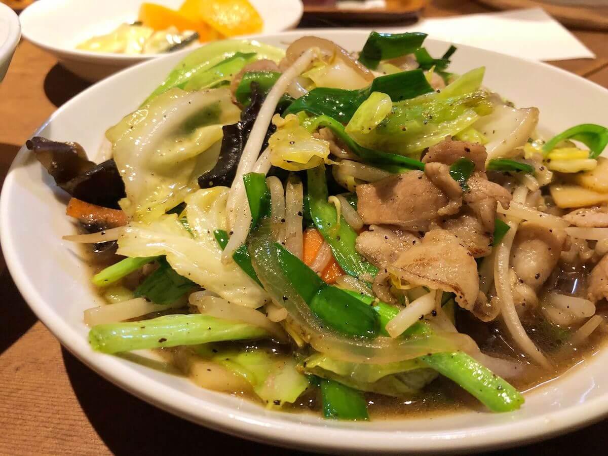 かおたんの肉野菜炒め